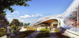 Arquitectura del futuro by Google. Mountain View, California